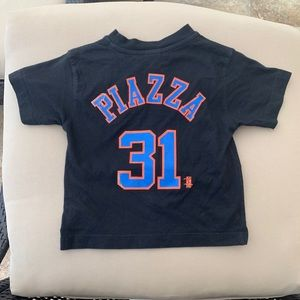 Vintage Mets Mike Piazza infant t shirt